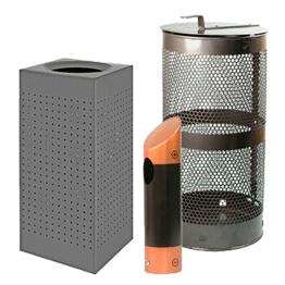 Beholdere - Affald & Batterier