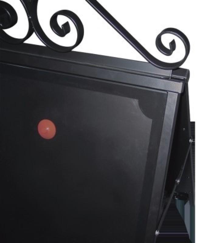 Frontplade med magnet til Star Antique gadeskilt