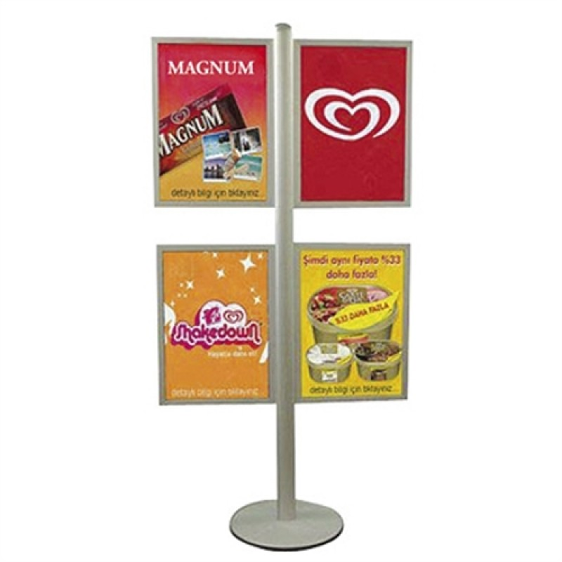 MULTISTAND 15 4 x SLIDE-IN 50x70cm.-30