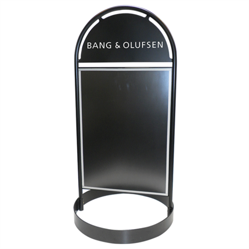 Gotik Circle gadeskilt BandO-30