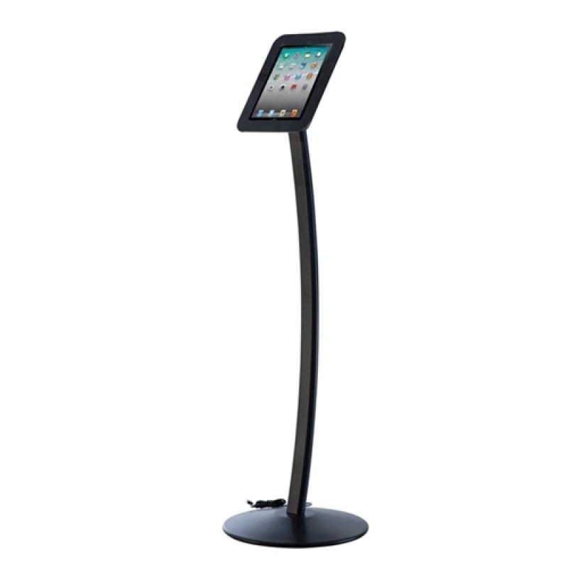iPad stander til gulv model Kiosk Sort-30