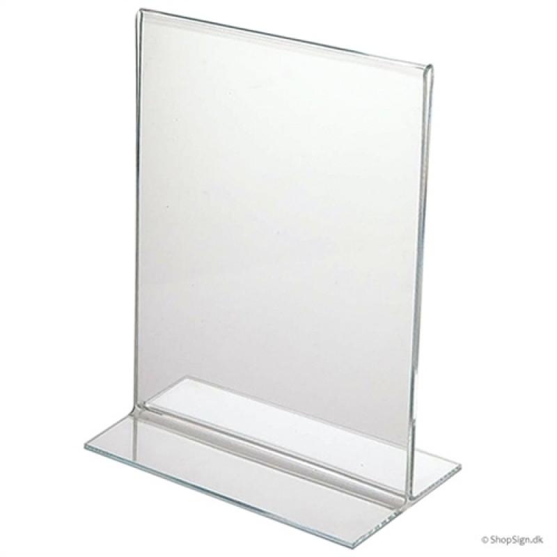 T-stand menukortholder - bordskilt