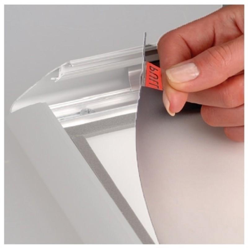 Antirefleks frontplade uden magnet - A4