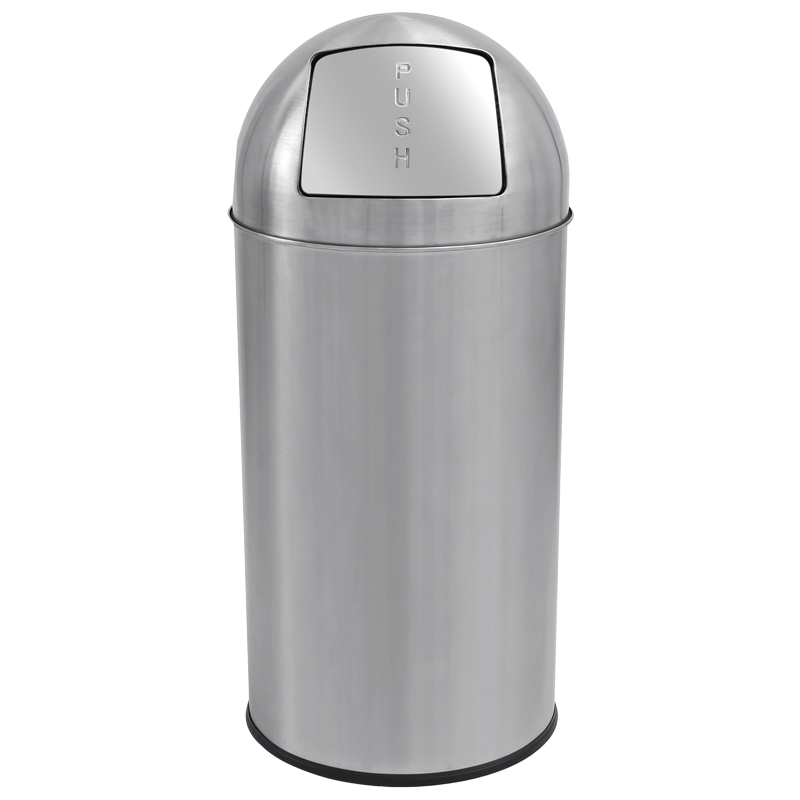 Affaldsspand med vippelåg - 50 liter