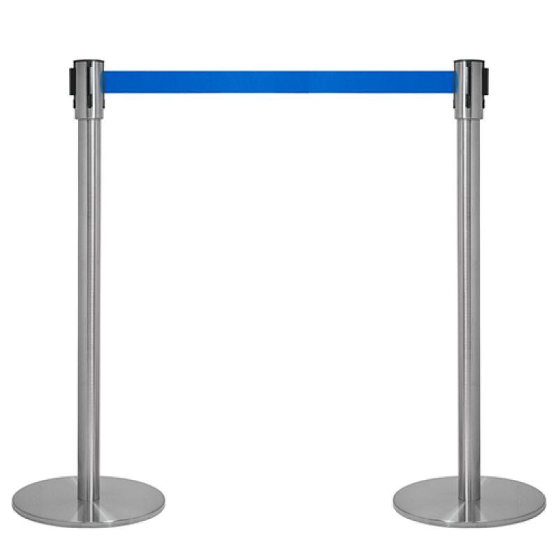 Kø kontrol VIP afspærring med blåt bånd-30