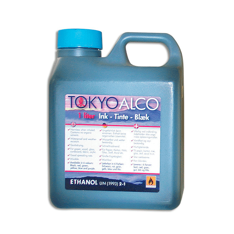 ALCO skilteblæk - Blå