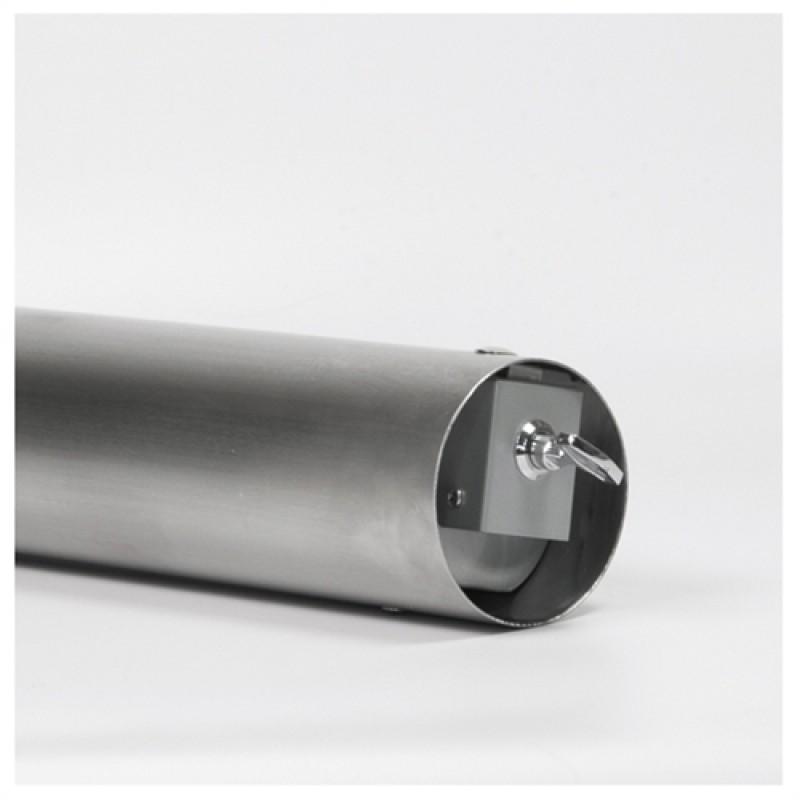 Tube Udendørs askebæger i sortlakeret stål-30