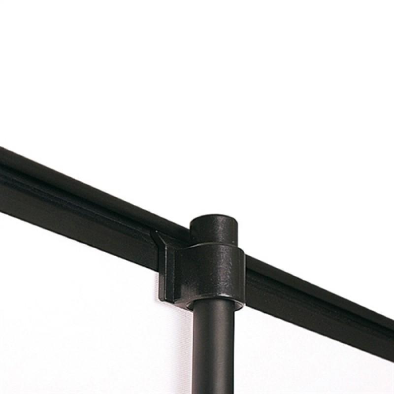 Basic black/krom rollup, 80x200cm. inkl. banner, print og taske-30