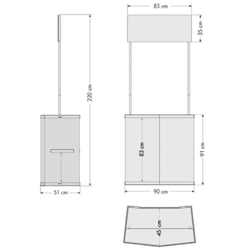 Basic Counter Messedisk-30