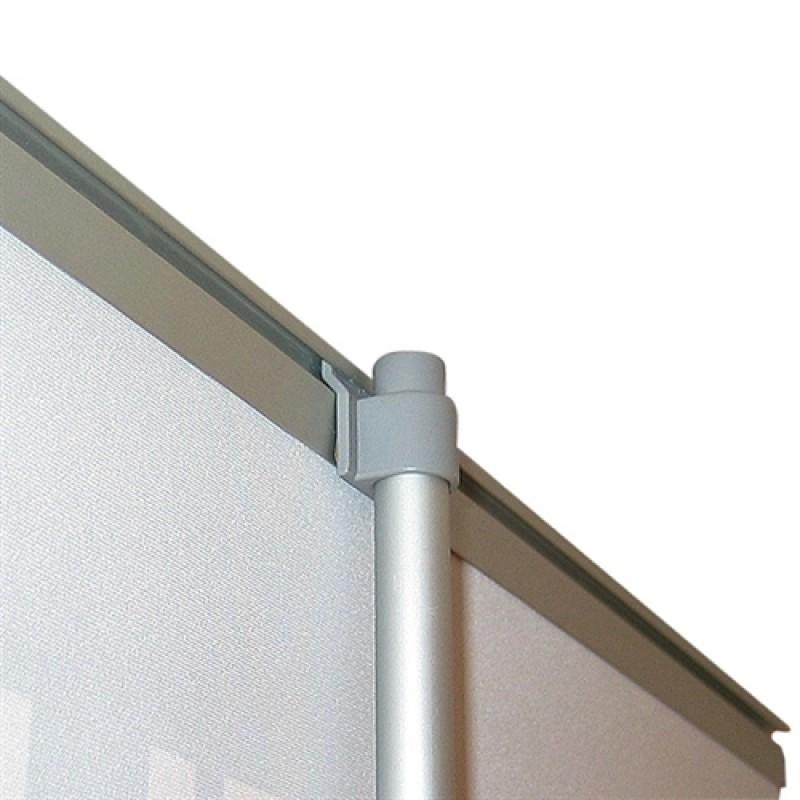 Basic silver rollup, 100x200cm. (uden banner)-30