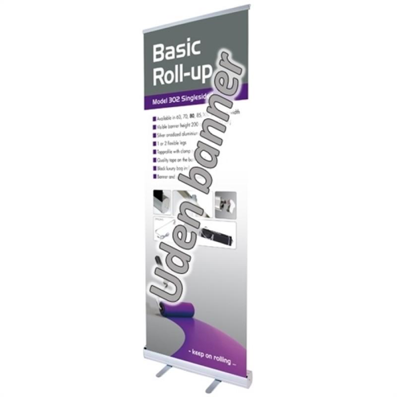 Basic silver rollup, 50x200cm. (uden banner)-30