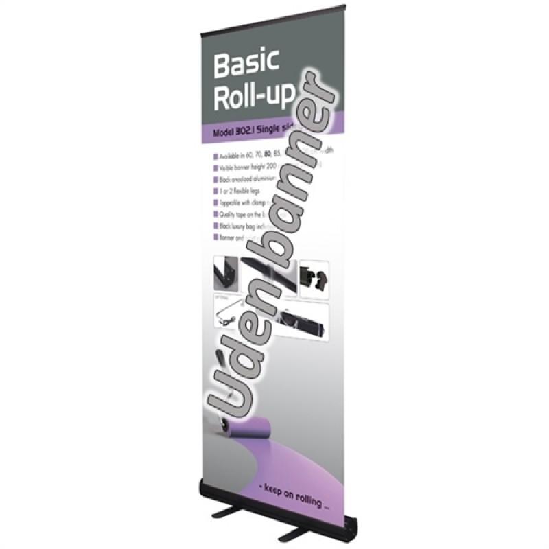 Basic sort rollup, 120x200cm. (uden banner)-30