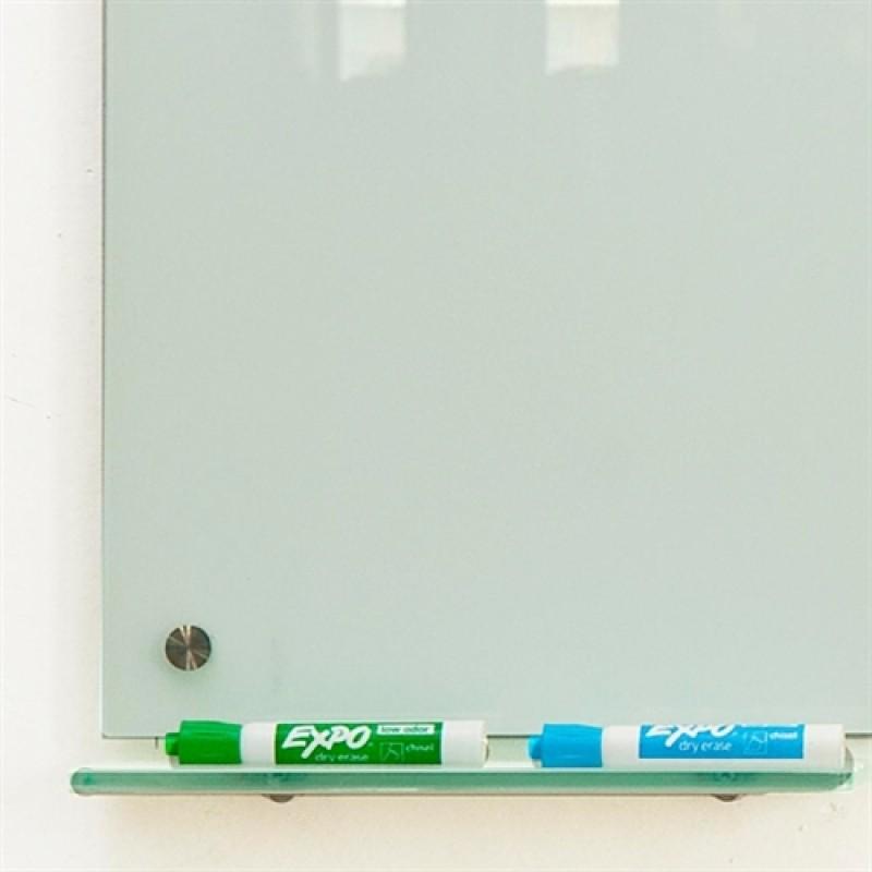 Magnetisk Glastavle Rød 60x90 cm.-30
