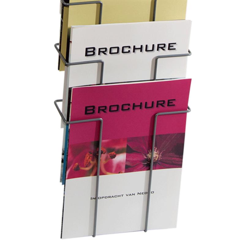 Brochureholder til væg Index 10 x A4-30