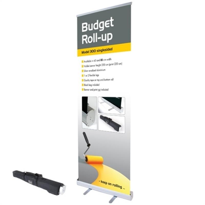Budget rollup, 60x200cm. inkl. banner, print og taske-30