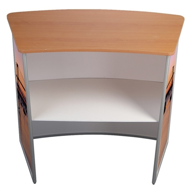 Curved Counter Messedisk-30