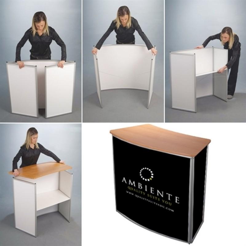Curved Counter messedisk - Med print/tryk på front og sider