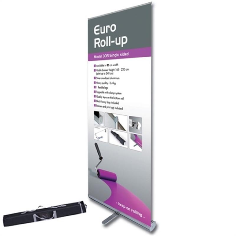 Euro rollup, 85x200cm. inkl. banner, print og taske-30