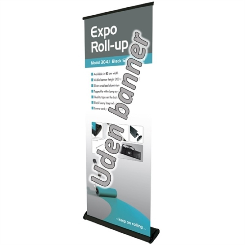 Expo black rollup-30