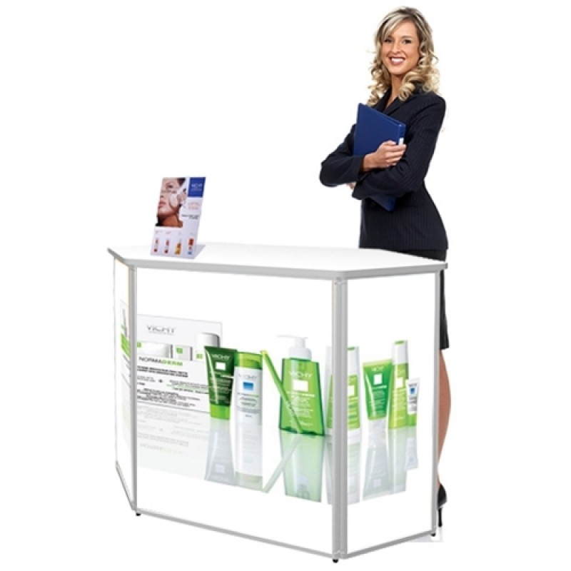 Expo Counter Messedisk Med print/tryk-30