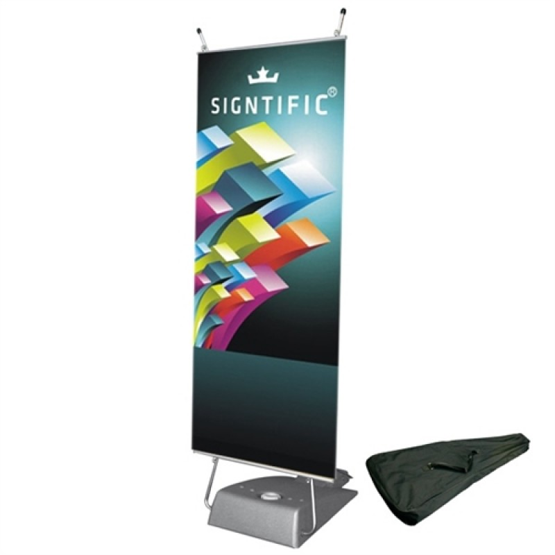 Expo Outdoor Banner Stand med banner-30