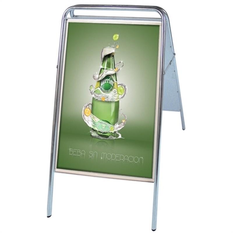Expo Sign Standard gadeskilt 59,4x84,1cm. A1 Sølv-30