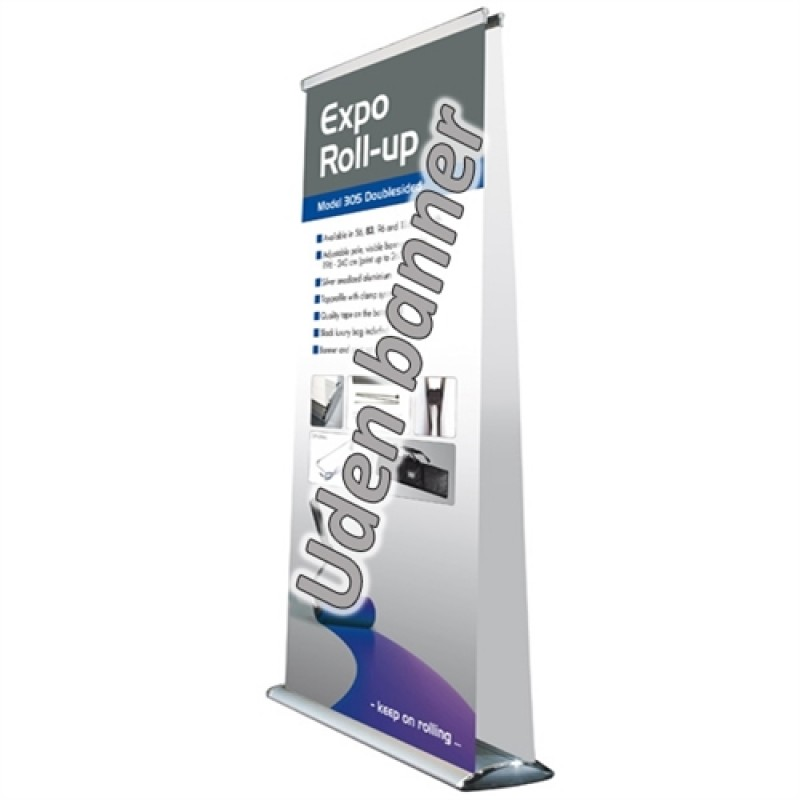 Expo silver rollup, 96x196-240cm. db. sidet (uden banner)-30
