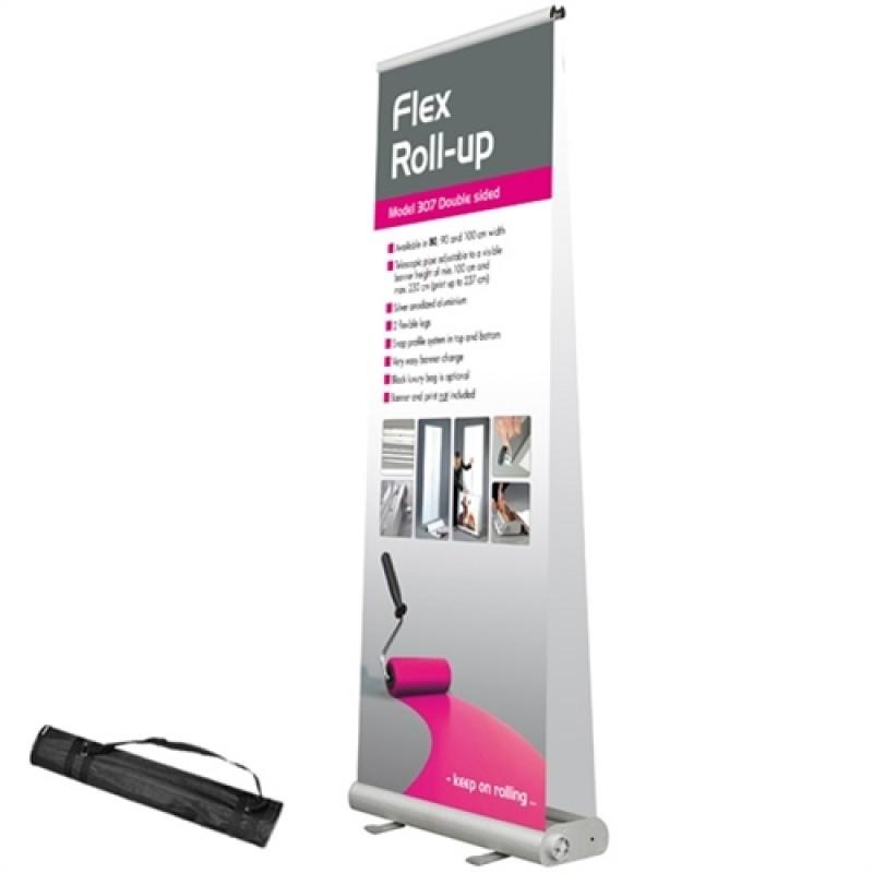 Flex rollup db. sidet, 100x107-230cm. inkl. banner og print-30