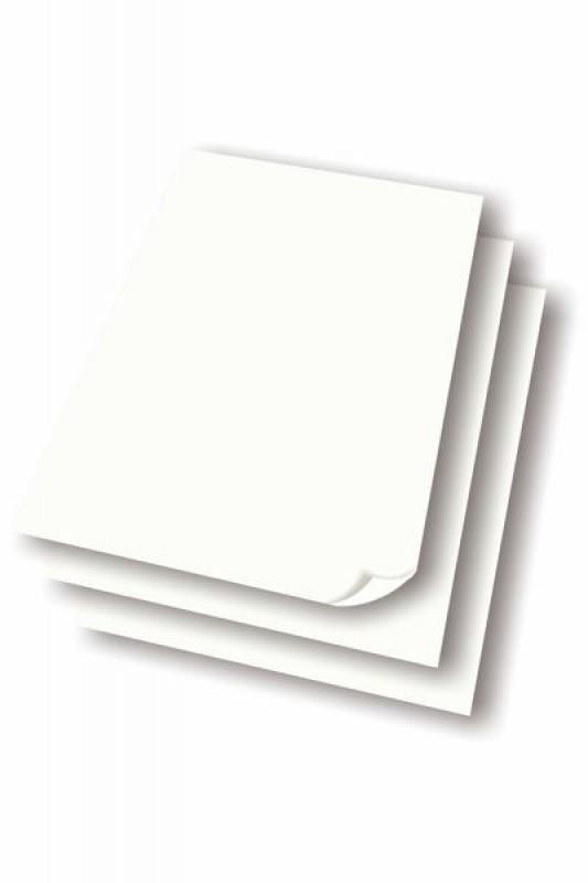 Papir til flipover tavle 5 blokke á 50 ark.-30