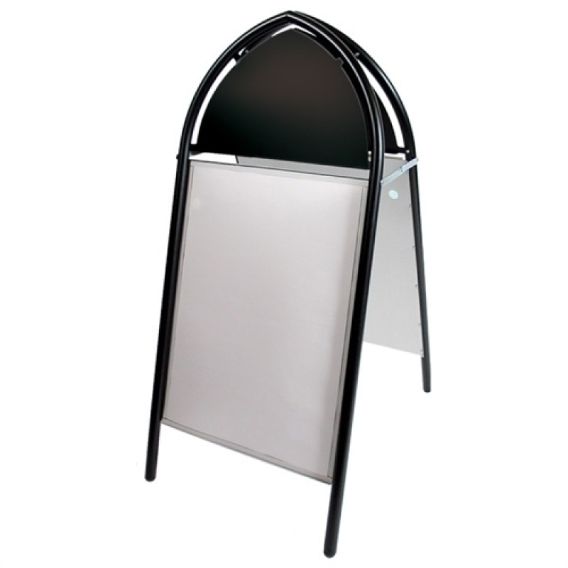 Gotik Classic gadeskilt 50x70cm Sort-30