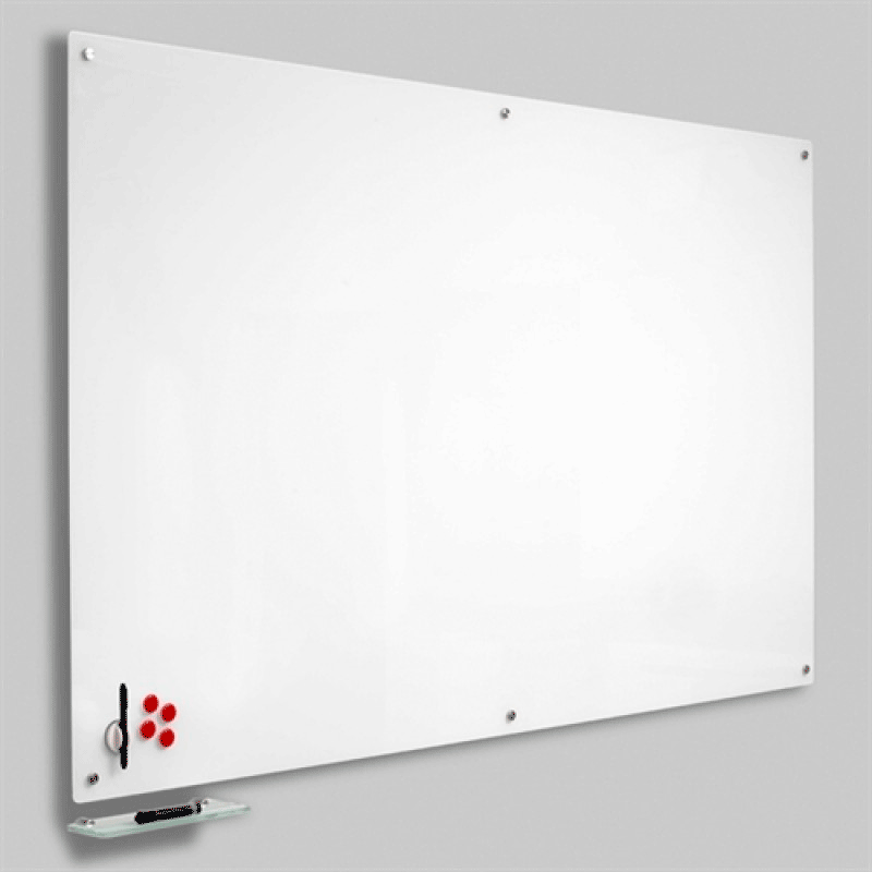 Magnetisk Glastavle Hvid 60x90 cm.-30