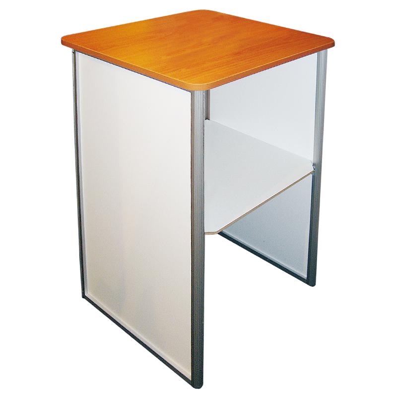 Messedisk - Square Counter med print på forside