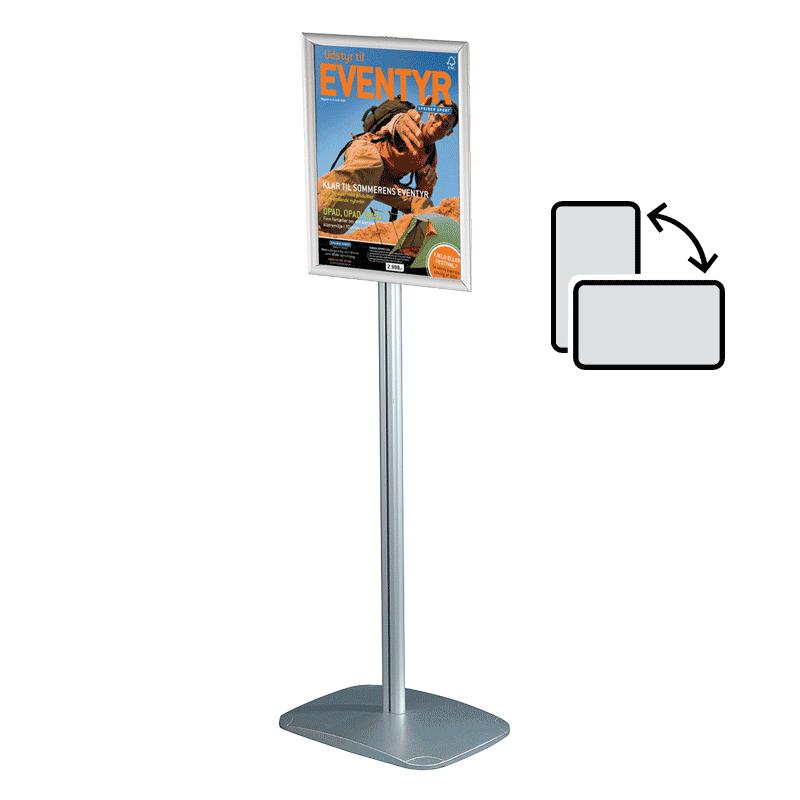 Mini infostander - A4 roterbar