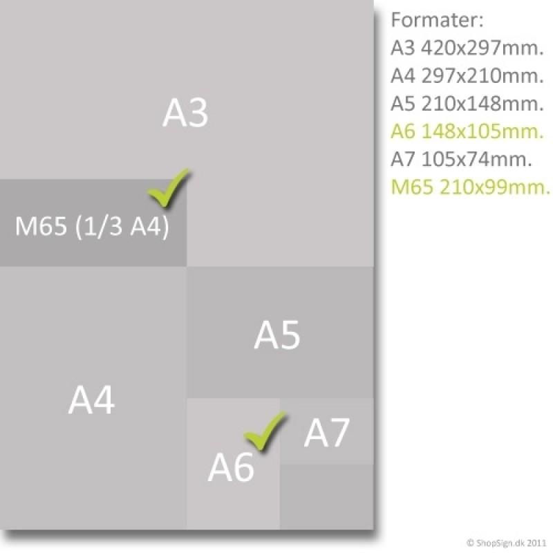 Taymar brochureholder A6, M65 TS110-30