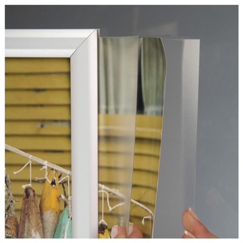 """Plakatophæng """"Slide-In frame"""" Horisontal A2 42*60cm.-30"""