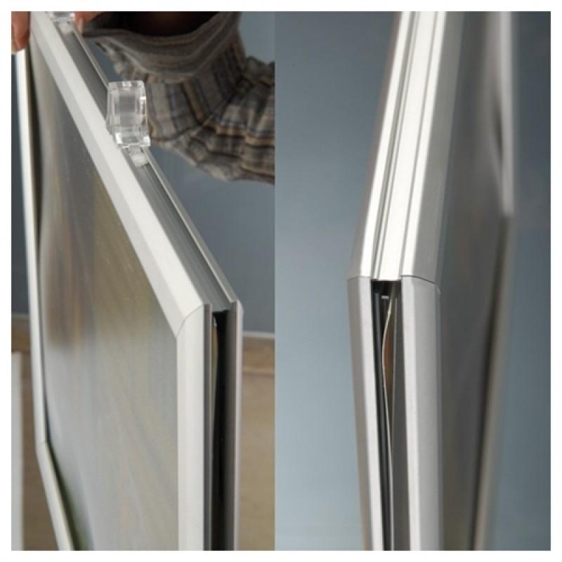 Plakatophæng, Slide-In frame, Horisontal A1-30