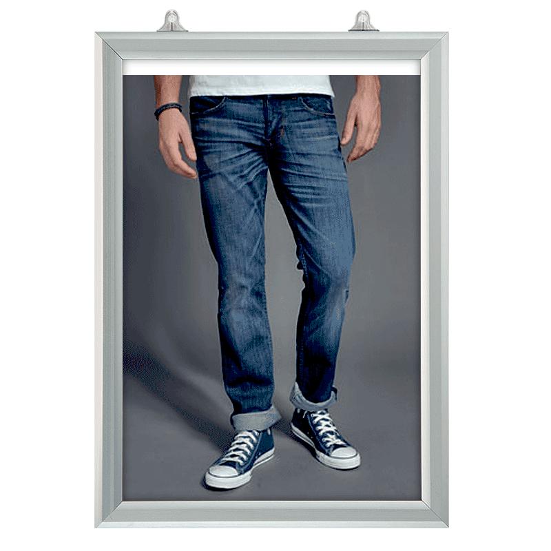 Plakatophæng, Slide-In frame, Vertikal A2-30
