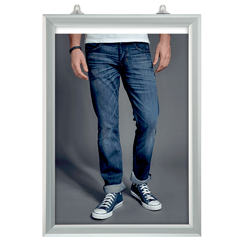 Plakatophæng, Slide-In frame, Vertikal A4-30
