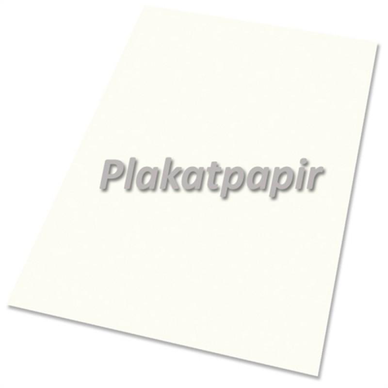 Plakatpapir, 100gr. hvid 60x85cm. (250 ark)-30