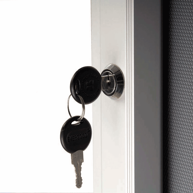 Opslagsskab med lås - Magnetic 6xA4