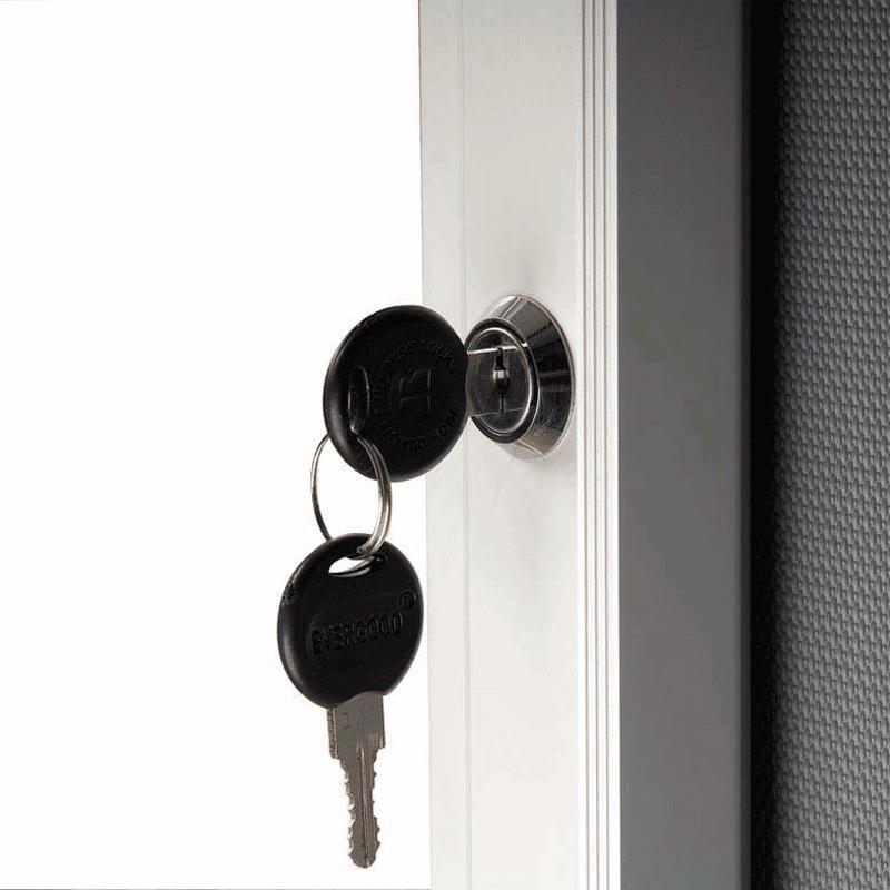 Opslagsskab med lås - Magnetisk 4xA4