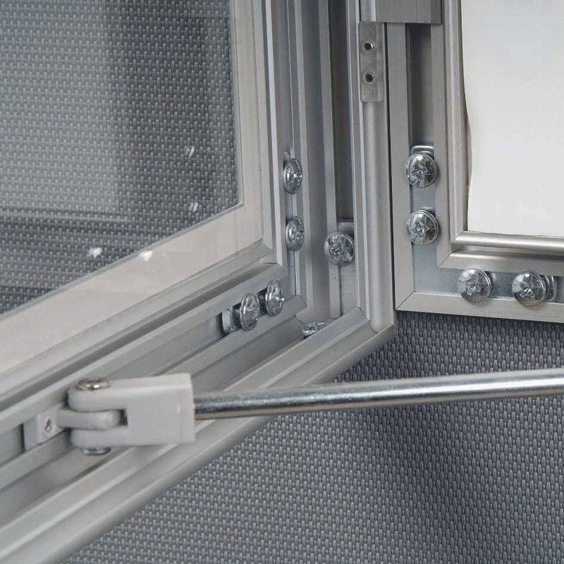 Opslagsskab med lås - Magnetic 12xA4
