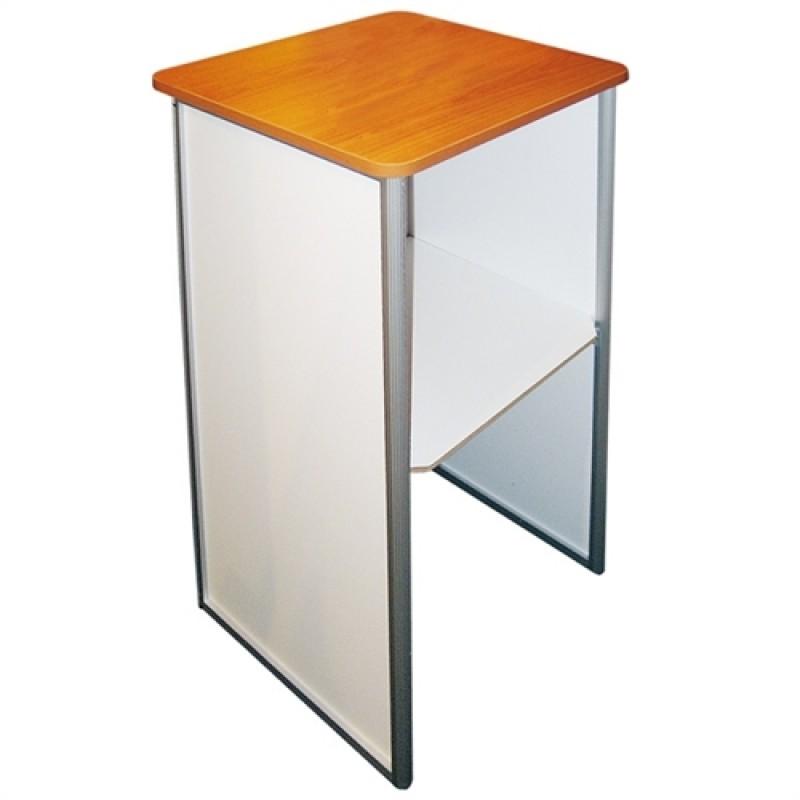 Messedisk - Square Counter - med print på forside og sider