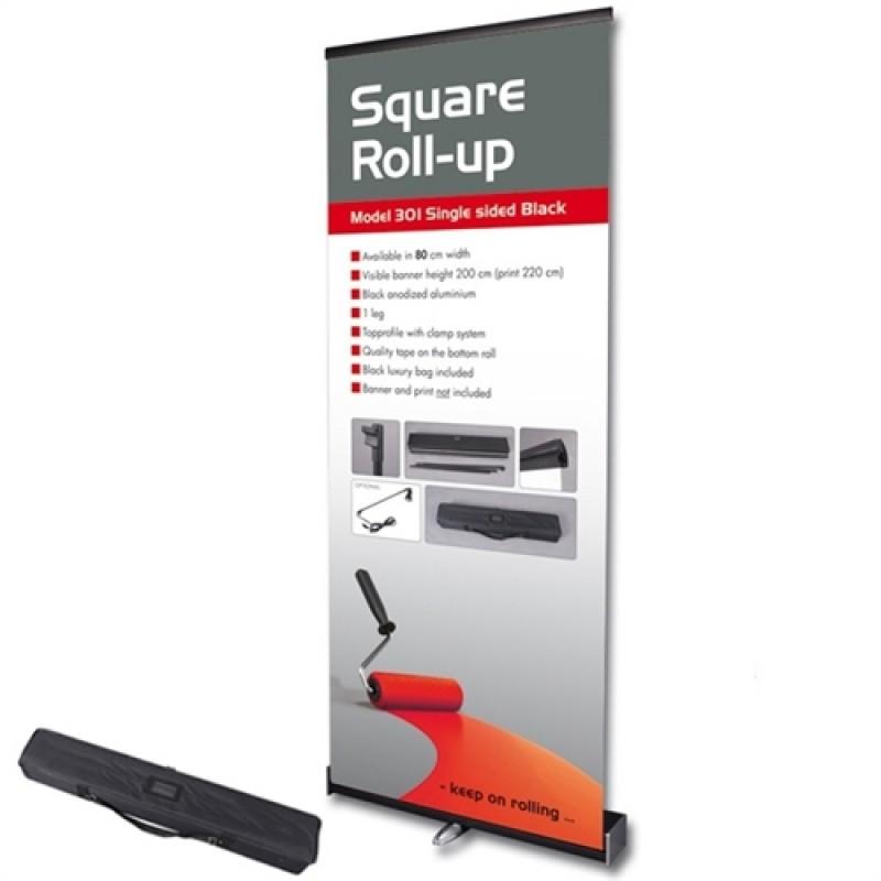 Square rollup, 80x200 med banner og print og taske-30