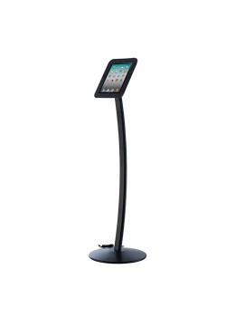 iPad stander til gulv model Kiosk Sort-20
