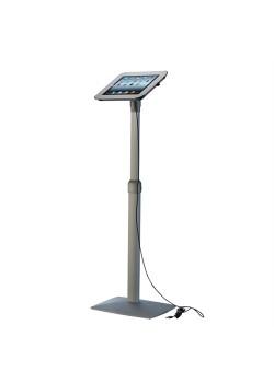 iPad stander til gulv, drejbar, hvid-20