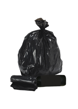 Affaldspose, sorte 90 liter 10 stk.-20