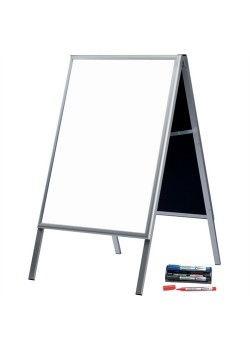 Alu-Line Whiteboard gadeskilt-20