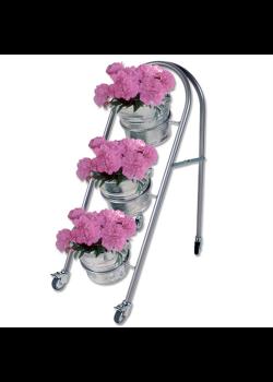 Blomsterstativ med 3 stk. zinkspande-20