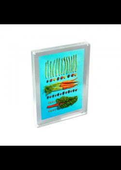 Bordskilt - Akryl blok visitkort